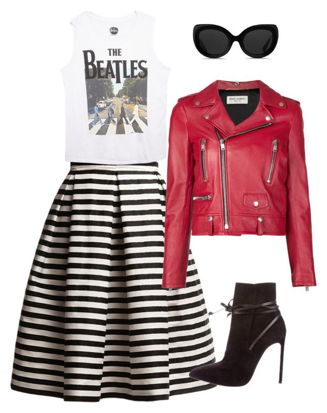 Steampunk by caterinami on Polyvore featuring moda, Wet Seal, Yves Saint Laurent, Rumour London and 3.1 Phillip Lim