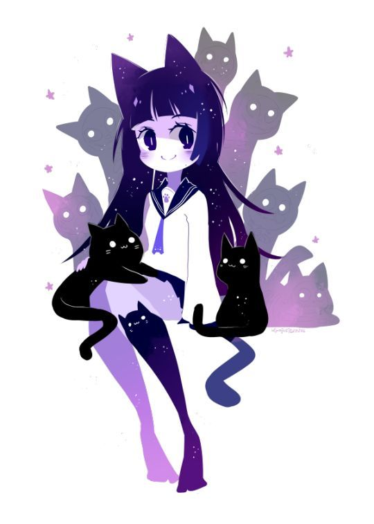 Image result for kawaii anime neko girl wallpaper