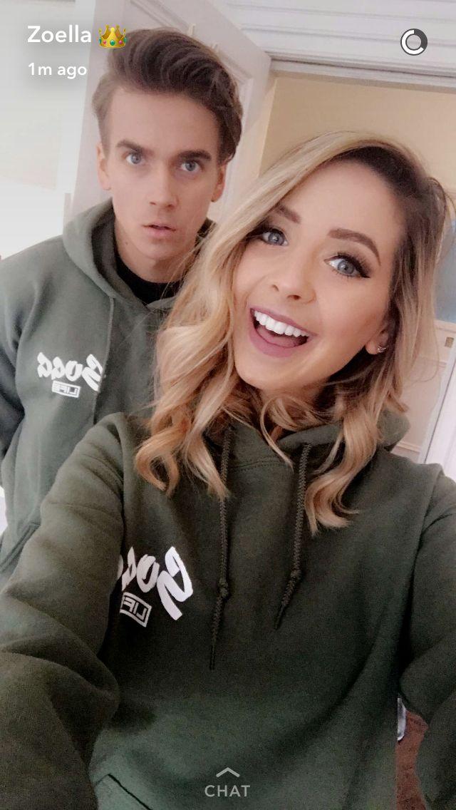 Zoe and Joe Sugg