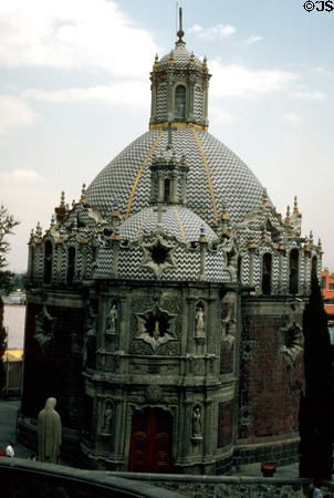Round Church at Guadalupe Basilica grounds ~ Mexico City ~ Mexico