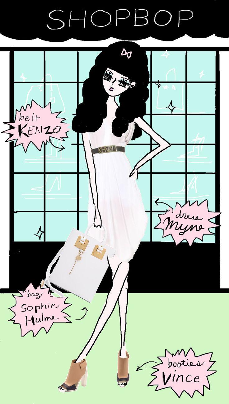 kimonosnack: SHOPBOP NEWS: WHITE SUMMER DRESS
