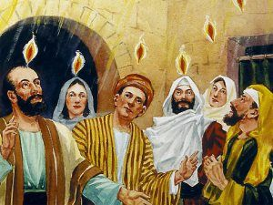 pentecost before the holy spirit