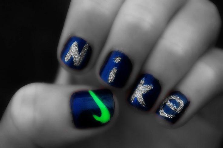 Nike nail art <3