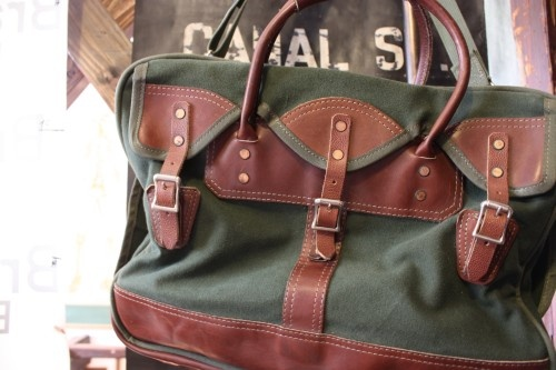 Vintage hunting tote for work bag/baby carryall