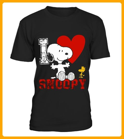 love snoopy - Comic shirts (*Partner-Link)