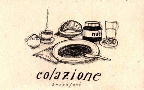 Learning Italian Language ~ Colazione (breakfast) IFHN