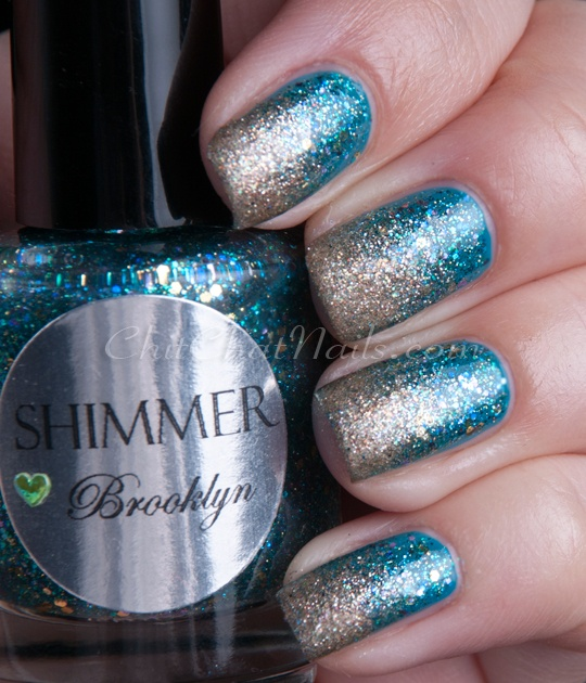 Pinned by www.SimpleNailArtTips.com SPONGING NAIL ART DESIGN IDEAS -  ChitChatNails » Blog Archive » Shimmer Saturdays – Part 3