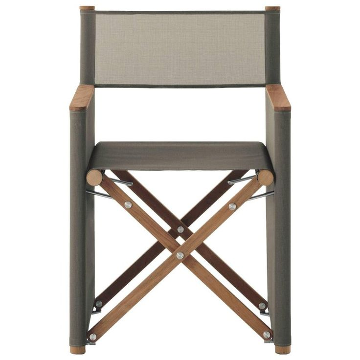 Roda Orson Folding Director Dining/Side Chair For Outdoor And Indoor Use
