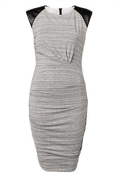 Jersey Shoulder Dress
