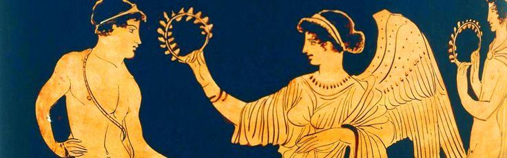 Οι αρχαίοι Έλληνες χρησιμοποιούνταν ένα στεφάνι ελιάς ως βραβείο στους αρχαίους ολυμπιακούς αγώνες.  Les anciens Grecs utilisaient couronne d'olivier comme un prix aux anciens Jeux Olympiques.  Die alten Griechen verwendeten Olivenkranz als Preis der alten Olympischen Spiele.