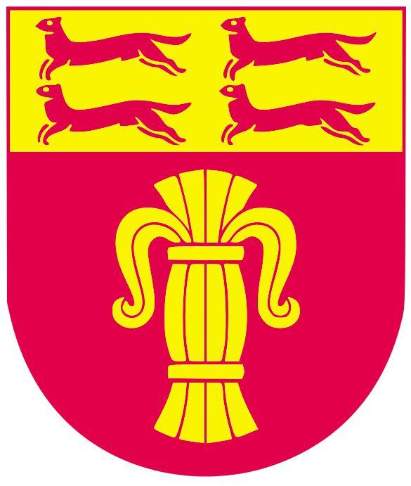 Ostrobothnia coat of arms. Pohjanmaan vaakuna.
