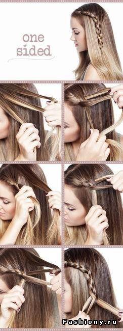 Несколько полезных МК по созданию причесок на каждый день / прически на каждый день на короткие волосы