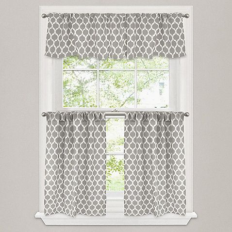 morocco window curtain tier pair discover more ideas about window curtains window and valance. Black Bedroom Furniture Sets. Home Design Ideas