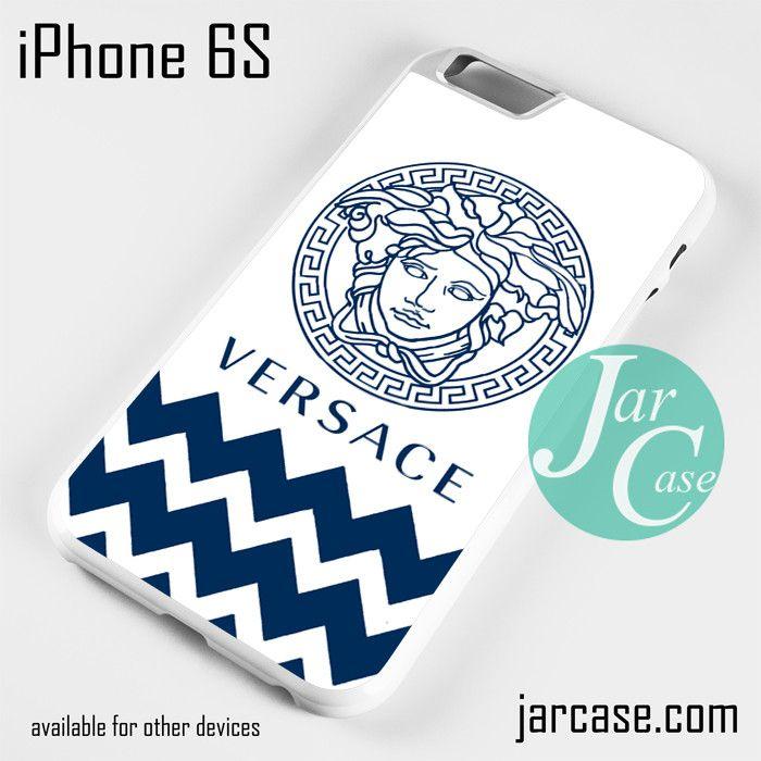 Versace Blue Chevron Phone case for iPhone 6/6S/6 Plus/6S plus
