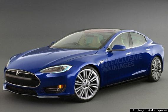 Tesla's much-anticipated somewhat affordable electric car will be called the Model 3. Pic is a Tesla Model S (the Model 3 design is set to be revealed in 2016).