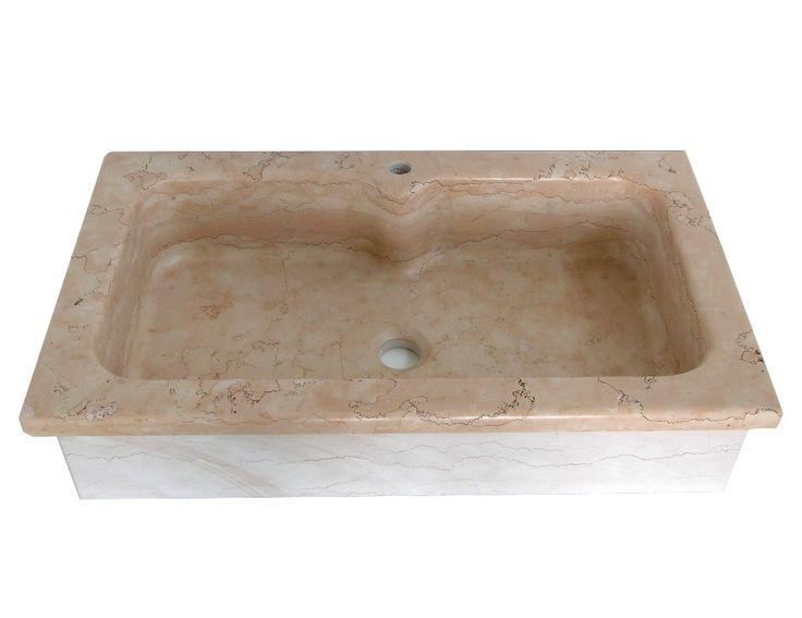 Oltre 25 fantastiche idee su lavello in pietra su - Lavandino cucina una vasca ...