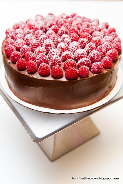 Chocolate Raspberry Layer Cake   Drinks/Treats/Yummy Stuff!   Pintere ...