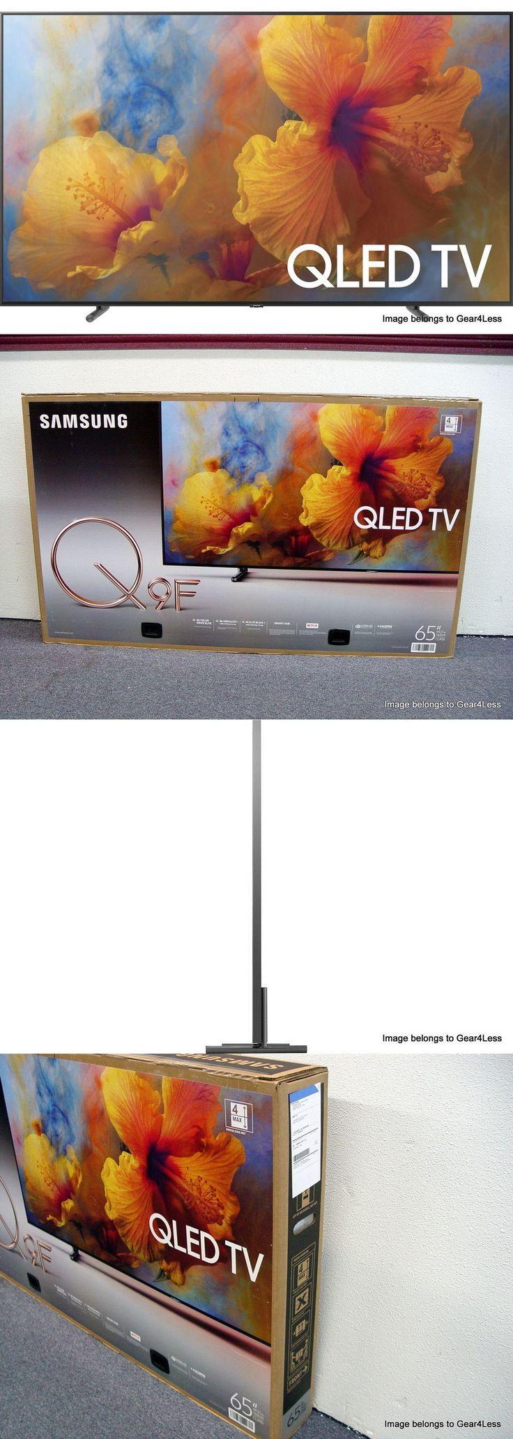 Televisions: Samsung 65Q9f 65 Smart Qled 4K Ultra Hd Tv Hdr Qn65q9f New Q Led Hdr 2017 -> BUY IT NOW ONLY: $3298.95 on eBay!
