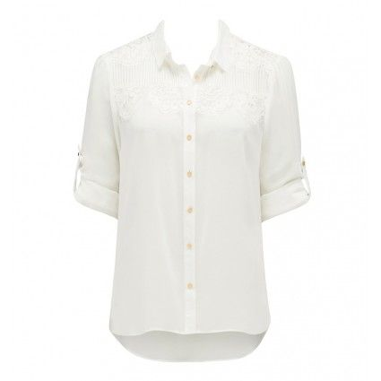 Mia pintuck lace yoke shirt Buy Dresses, Tops, Pants, Denim, Handbags, Shoes and Accessories Online