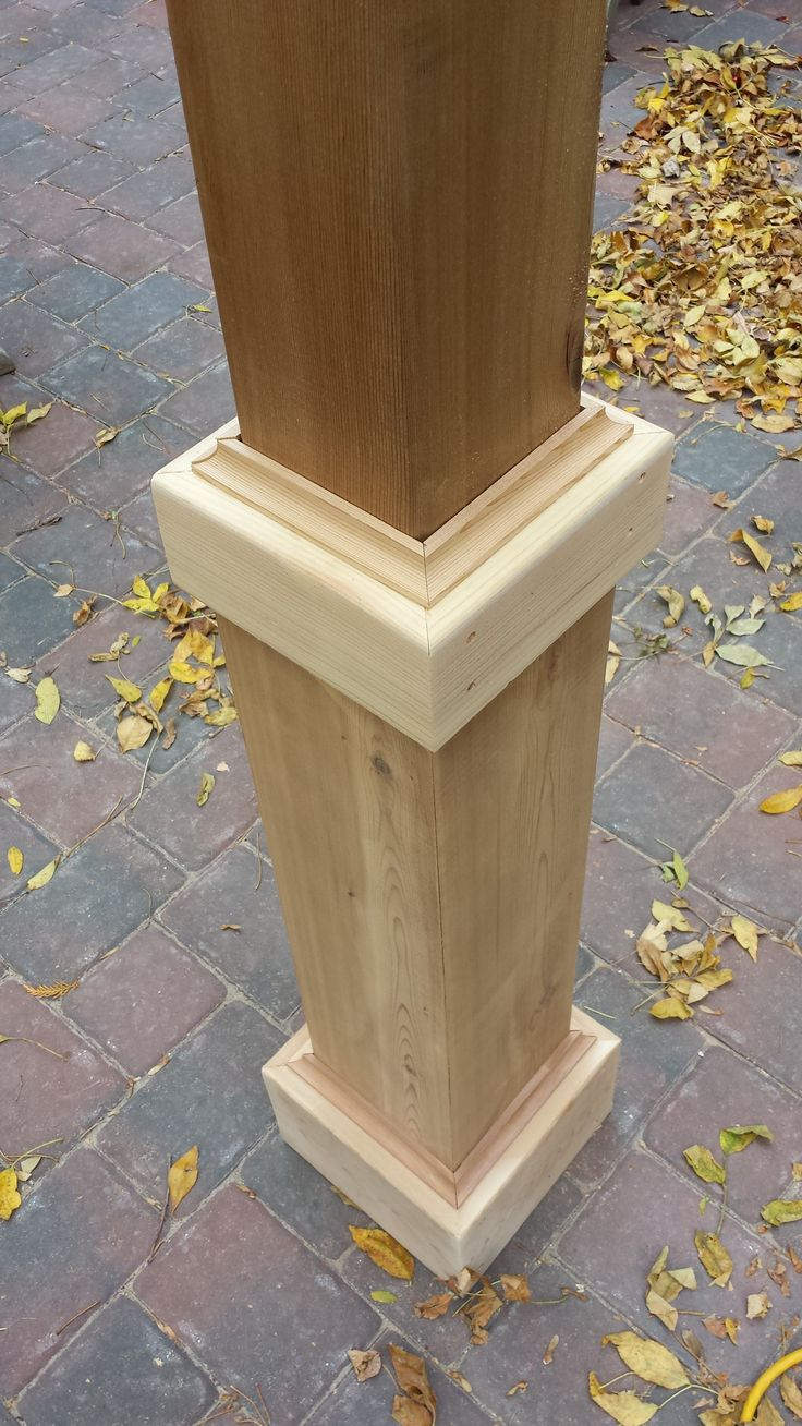 Wooden Porch Canopy