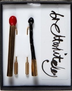 Bret Whiteley Matchstick Brooches