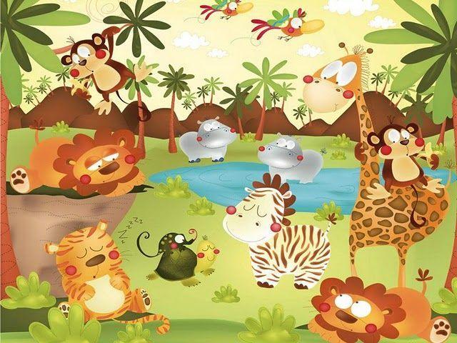 kirjoita kuvasta viidakko