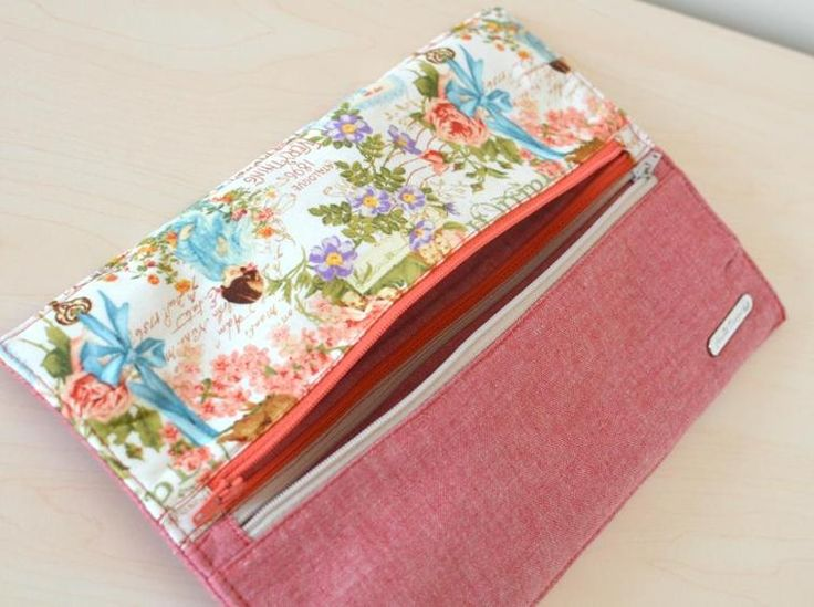 """FREE Double Zip """"Gemini"""" Pouch 