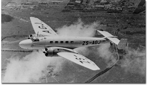 Junkers Ju 86 ZS-AGJ Junkers Ju 86 (1937)