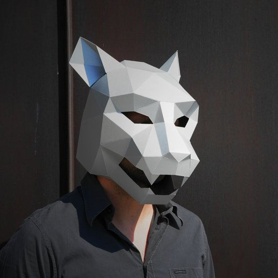 NEED A FANCY DRESS COSTUME? Make your own JAGUAR MASK from recycled card with these easy to follow instructions.  I have designed this set of templates and instructions so that you can create your own stunning 3D Low-Poly Jaguar Mask. The masks are designed to be easy to build so you dont need to be some sort of arts and crafts wizard and the finished masks are robust so should survive the wildest of parties. They are ideal for wearing to festivals, parties and even weddings! Not sure if…