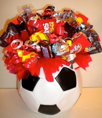 Sports Bouquets - Candy Gifts and Crafts, Candy Bouquets, Centerpieces, Handmade Crafts, Hand Painted Glassware/Bucket - ecomPlanet Web Hosting - the #1 Free hosting solution worldwide