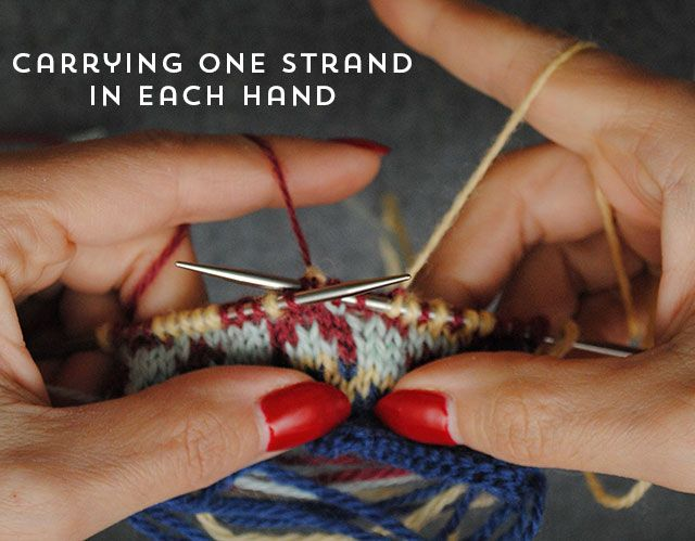 Intro tips for stranded knitting - By Gum By Golly