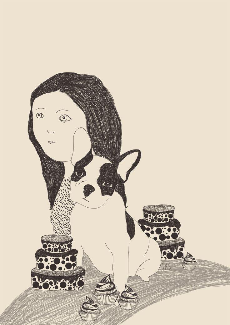 A Fiorenza piacciono i bulldog francesi. A Fiorenza piace preparare dolci.
