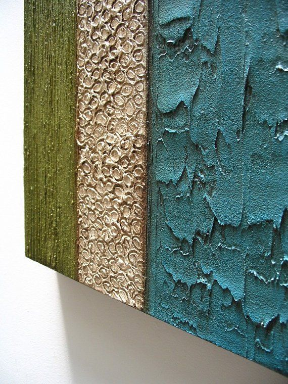 Items Similar To Modern Art Texture Wall Art Sculpture Abstract 36x36 Original Acrylic Painting On Canvas Wall Hanging Mixed Media Blue Green On Etsy Texture Art Wall Sculpture Art Texture Painting