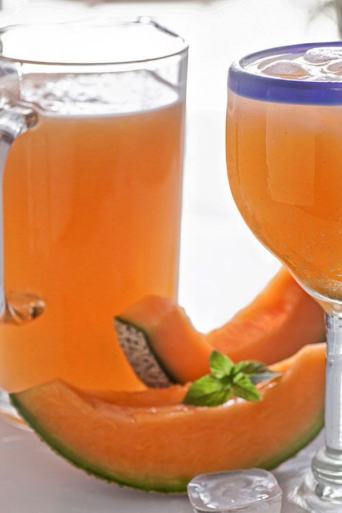 The sweet and refreshing Cantaloupe Water.