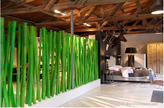 Boom Design Bamboo Room Divider