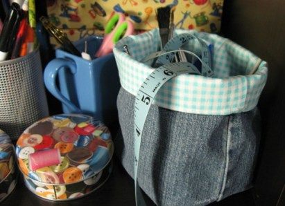 Denim Jeans Basket