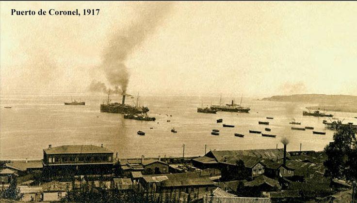 Imágenes de Chile del 1900: Lota y Coronel