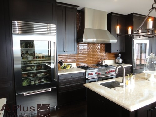 Rubie - modern - kitchen - orange county - APlus Interior Design &  Remodeling