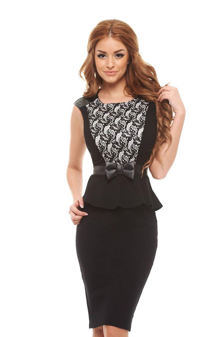 Fofy Real Princess Black Dress