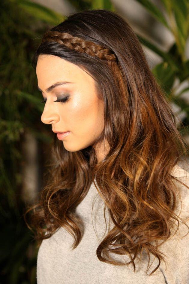 penteados com cabelo solto 5