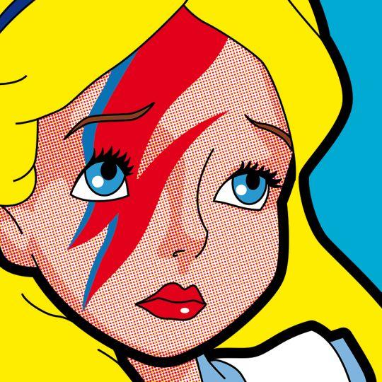 WonderARTland #1, Pop Icon by Grégoire Guillemin - #aliceinwonderland