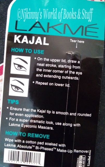 #ProductReview + Tips to Use: Lakme Eyeconic Kajal (Black) Read my #Review of Lakme Eyeconic Kajal on my blog and checkout my views on it. :)  http://www.njkinnysblog.com/2015/08/product-review-lakme-eyeconic-kajal.html  #EyeMakeup #Kajal #BeautyAndFashionCorner