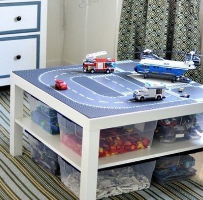die 25 besten ideen zu lego tisch auf pinterest lego tisch ikea lego aufbewarung und lego. Black Bedroom Furniture Sets. Home Design Ideas