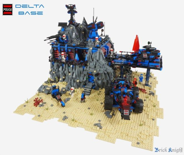 LEGO Space Police Delta Base