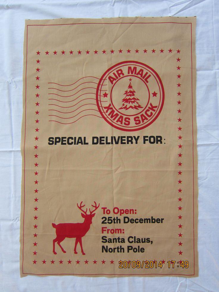 Large Postage Delivery Santa Sack (W 51 cm x H 74cm) - $29.95 each + postage
