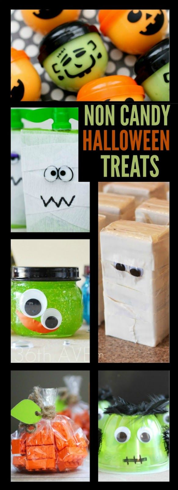 35 non candy halloween treats for kids such creative for Creative ideas for halloween treats
