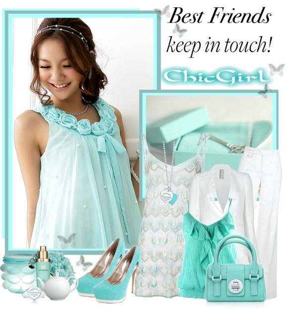 """""""Best Frends"""" by sneky ❤ liked on Polyvore"""