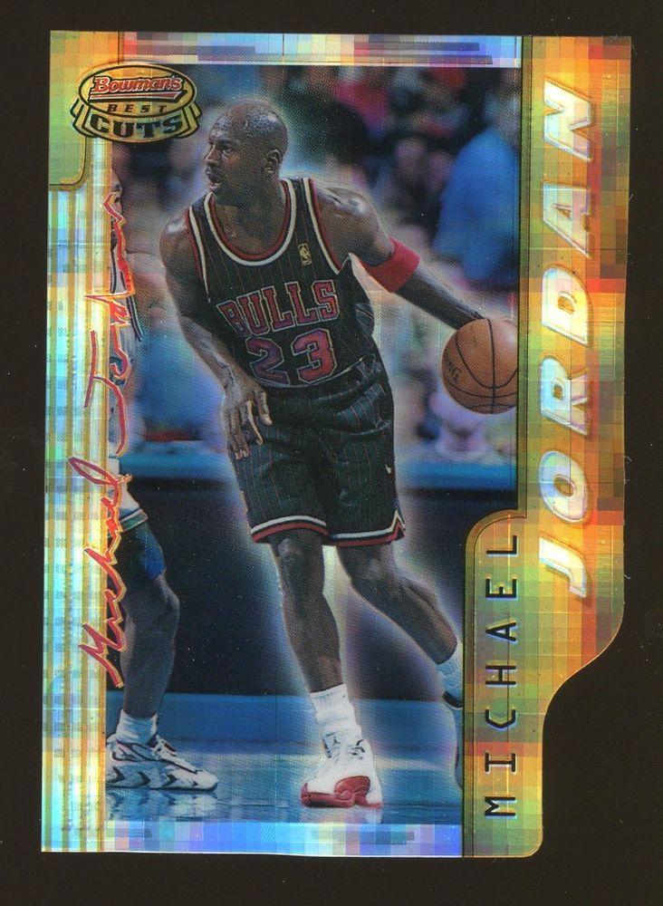 5f6c35c9e3b 1996-97 Bowman s Best Cuts Atomic Refractor Die-Cut  BC2 Michael Jordan HOF