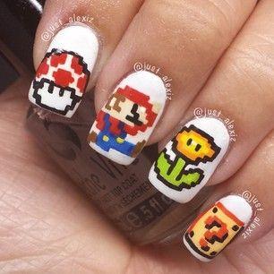 Ya existía Mario: | 26 diseños artísticos de uñas increíblemente detallados