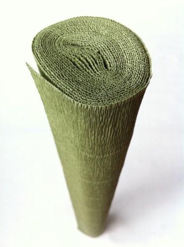 Italian Crepe Paper roll 180 gram - 562 GREEN LEAFCrepes Paper, Paper Rolls, Green Leaves, Green Leaf, Art Tissue, Italian Crepes, Crepe Paper, 562 Green, 180 Grams